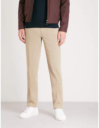 Corneliani Regular-fit straight stretch-cotton trousers
