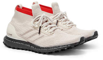 adidas UltraBOOST All-Terrain Primeknit Sneakers - Men - Beige