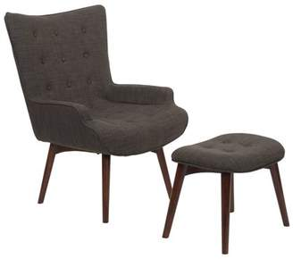 Office Star AVE-SIX by Products Dalton Chair with Ottoman, Various Colors
