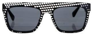 Diane von Furstenberg Gracie Square Tinted Sunglasses