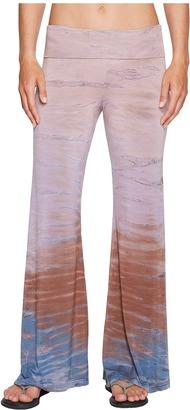 Hard Tail - Flare Leg Pants Women's Casual Pants $77 thestylecure.com