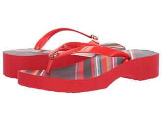 df064ee3961a77 Tory Burch Wedge Flip Flops - ShopStyle
