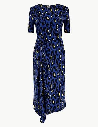 Per Una Animal Print Jersey Bodycon Dress