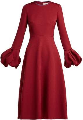 Roksanda Aylin bell-sleeve cady dress