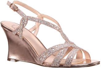 I. MILLER I. Miller Vardina Womens Wedge Sandals