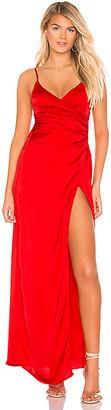 superdown Eva Front Slit Dress
