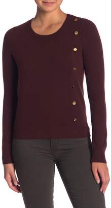 Olsen Sigred Side Button Cashmere Sweater