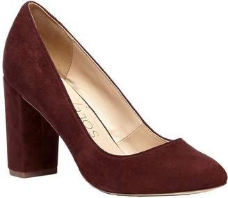 Sole Society Block Heel Pumps - Giselle