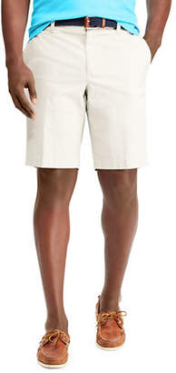Chaps Big and Tall Stretch Poplin Bermuda Shorts