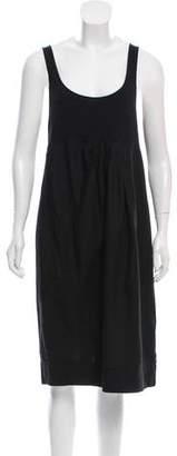 James Perse Linen-Blend Sleeveless Dress
