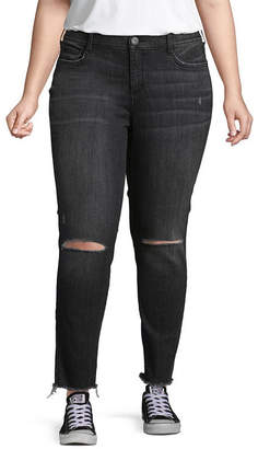 534489b2d89 Arizona Womens Mid Rise Jeggings - Juniors Plus
