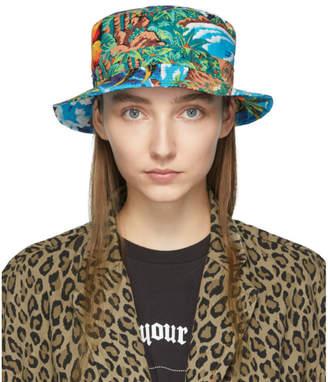R 13 Blue Wave Island Bucket Hat
