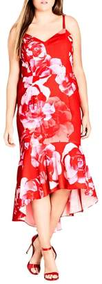 City Chic Tango Floral Dress