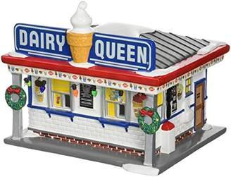 Department 56 Snow Village Dairy Queen Lit Building