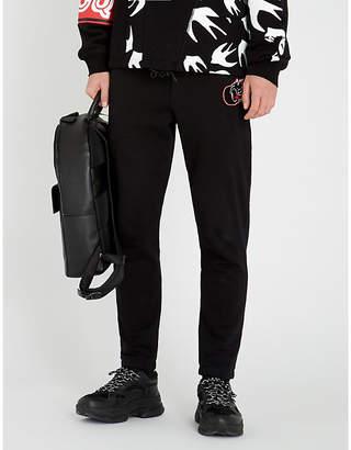 McQ Varsity cotton-jersey jogging bottoms