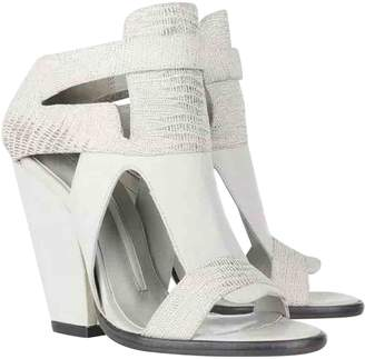 Camilla Skovgaard Grey Leather Sandals