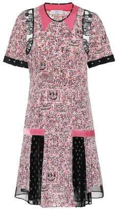 Coach x Keith Haring printed silk dress