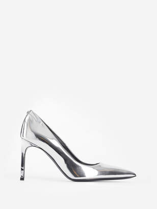 4bced56ce38 Silver Mirrored Pumps - ShopStyle