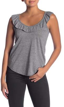 Chaser Ruffled Scoop Neck Top