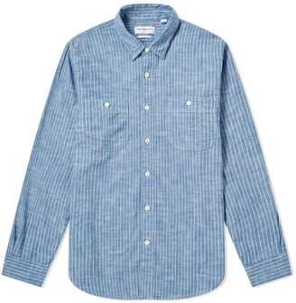 Presidents President's Kansas Stripe Flannel Shirt