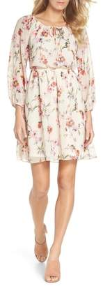Adrianna Papell Bonita Oasis Floral Dress