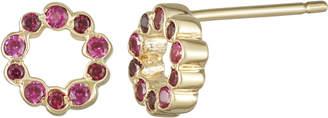 Parker Hi June Jewelry New York Mini Circle Shape Stud Earring