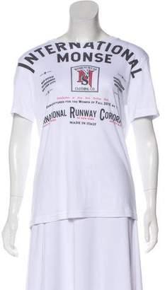 Monse 2018 Short Sleeve Graphic T-Shirt