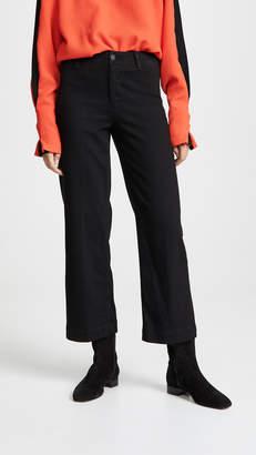 Paige Nellie Clean Culotte Jeans