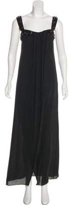 Valentino Embellished Silk Gown