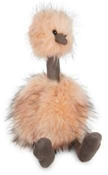 Jellycat Just Peachy Pompom Bird Toy