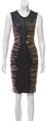 Raquel Allegra Sleeveless Tie-Dye Dress