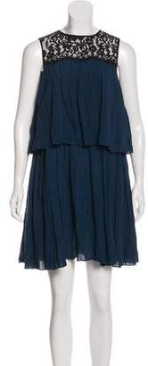 Rachel Zoe Sleeveless A-Line Dress