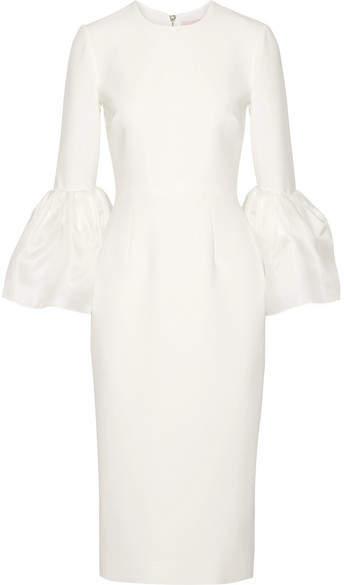 Roksanda - Margot Crepe De Chine Dress - Ivory