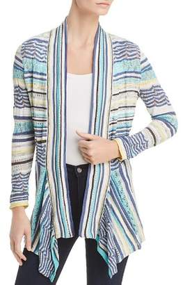 Nic+Zoe Good Vibe Striped Lace Cardigan