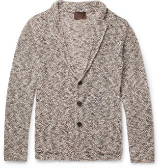 Altea Mouline Mélange Knitted Cardigan