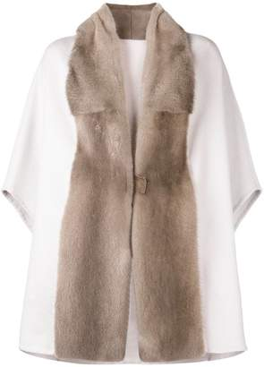 Liska oversized cape coat