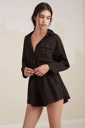 Fifth Sun THE VALLEY PLAYSUIT black