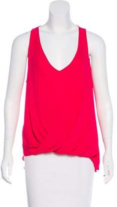 Elizabeth and James Crossover Sleeveless Top
