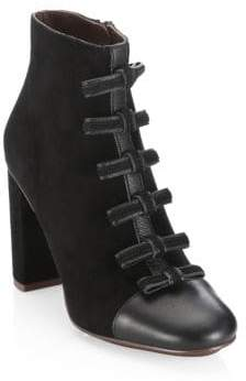 See by Chloe Gisel Bow Booties