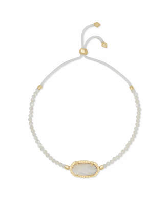 Kendra Scott Elaina Gold Beaded Chain Bracelet