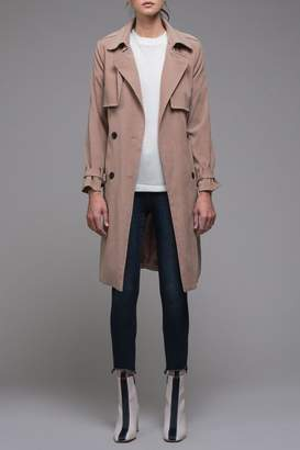 EVIDNT Beige Classic Trench