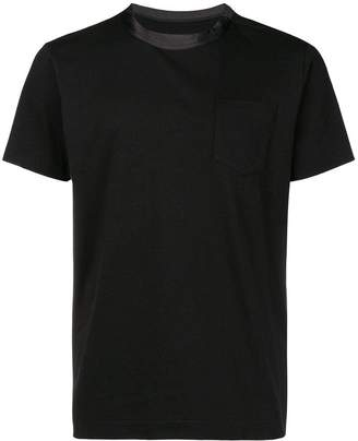 Sacai short-sleeve fitted T-shirt