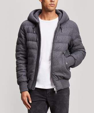 Moncler Renoir Quilted Wool And Cashmere-Blend Jacket