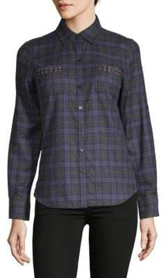 Robert Graham Harper Plaid Flannel Button-Down Shirt