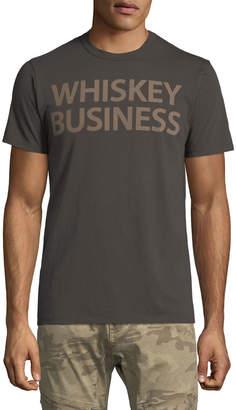 Chaser Men's Whiskey Business Slogan Tee
