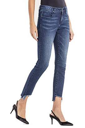 Miss Me Women's Hit The Spot Mid-Rise Ankle Skinny Jeans
