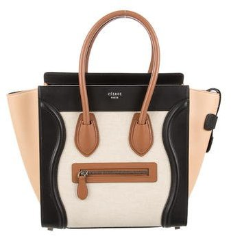 Céline 2015 Micro Luggage Tote w/ Tags