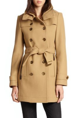 Burberry Daylesmoores Coat $1,095 thestylecure.com