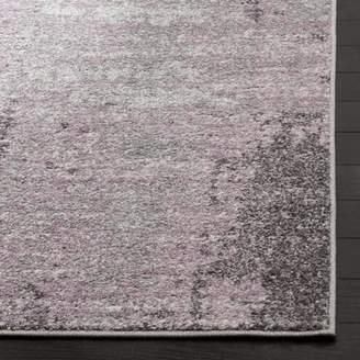 Trent Austin Design Costa Mesa Light Gray/Purple Area Rug