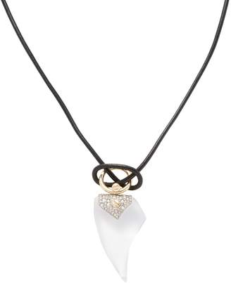 Alexis Bittar Women's Lucite Encrusted Thorn Pendant Necklace